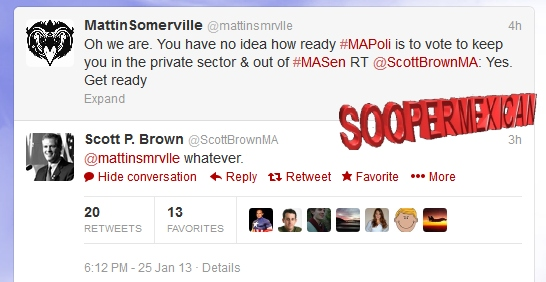 What's in a Twitter name? Scott Brown drops 'MA' from his ...