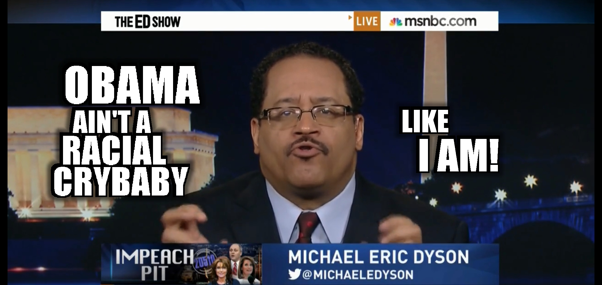 michael eric dyson - RACIAL CRYBABY