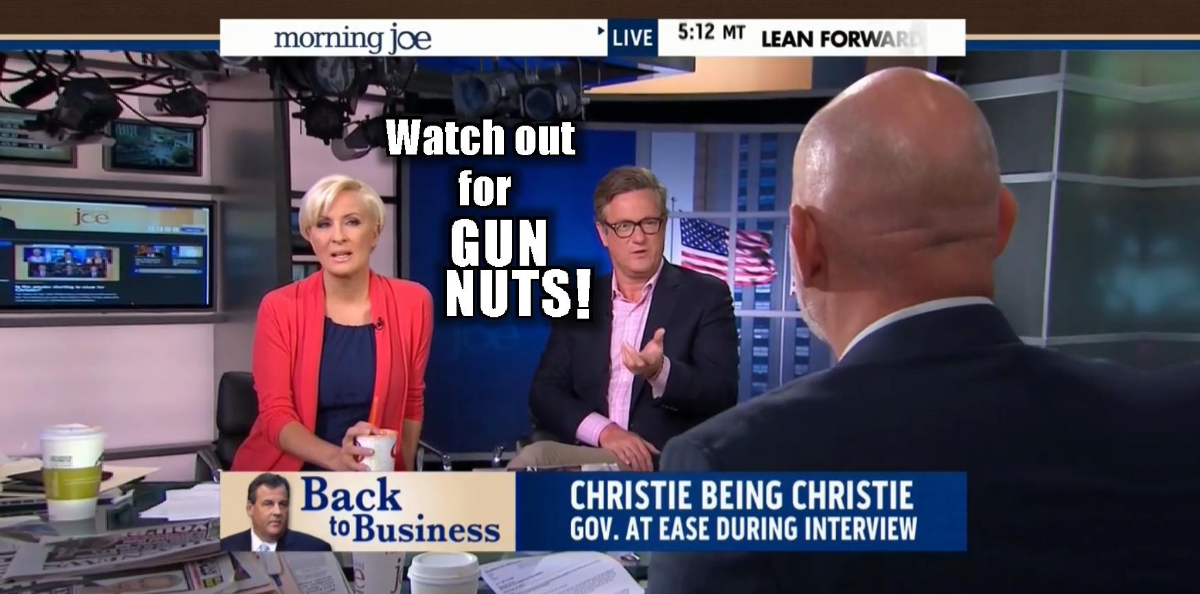 morning joe-gun nuts