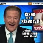 ed schultz -taxes
