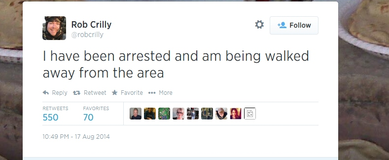 rob crilly arrested