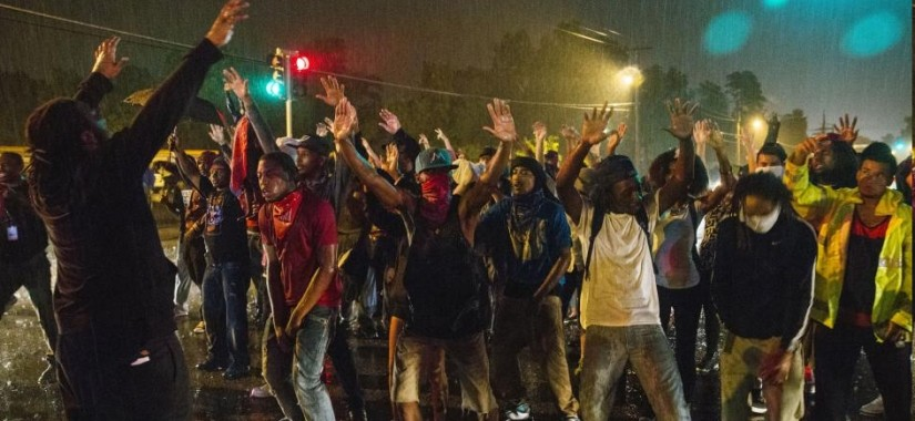 ferguson hands up