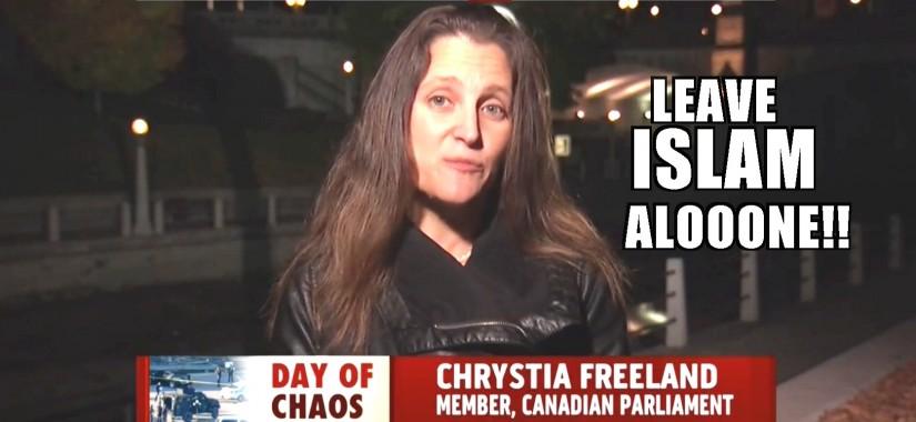 Chrystia freeland-ISLAM