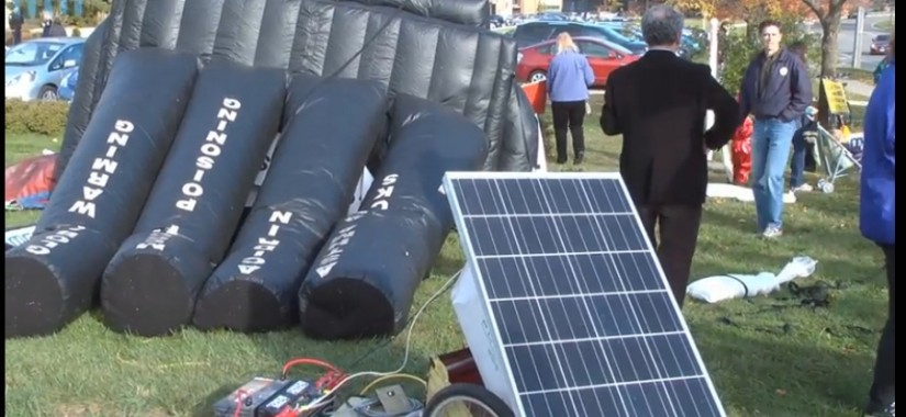 solar cell balloon fail