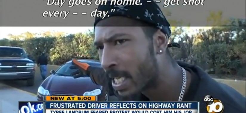 get shot every day frustrated driver