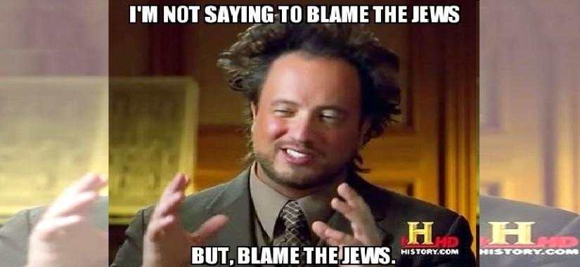 blame the jews jooz