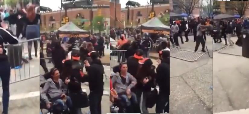 blacks attack whites handicapped