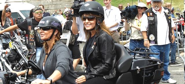 sarah palin bikers