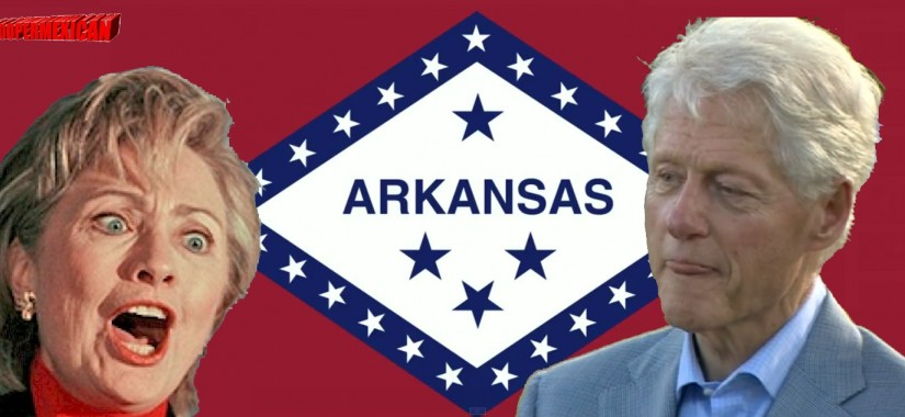 arkansas flag - hillary bill clinton -1