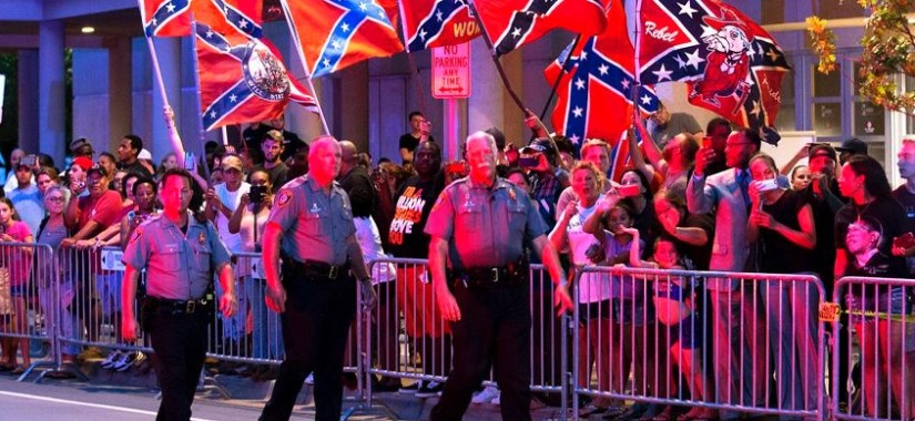 confederate protesters olkahoma city