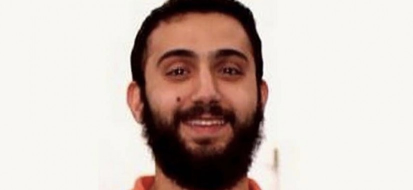 Does this guy look Muslim to you?!? He's so happy!!