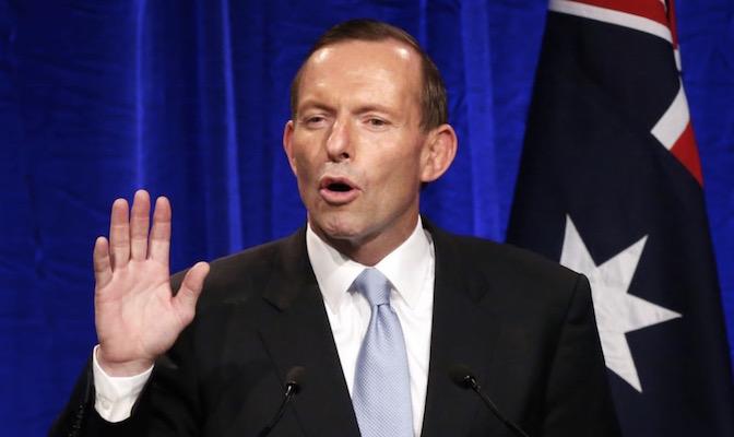 PM abbott australia