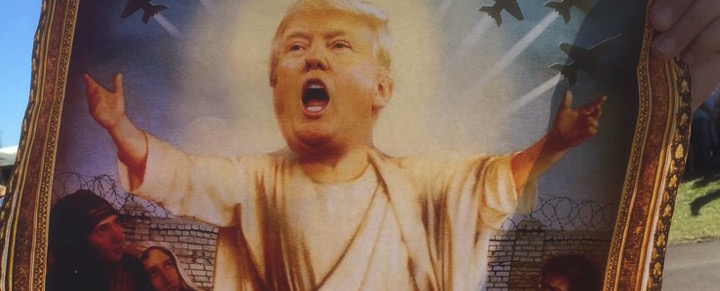 donald trump jesus