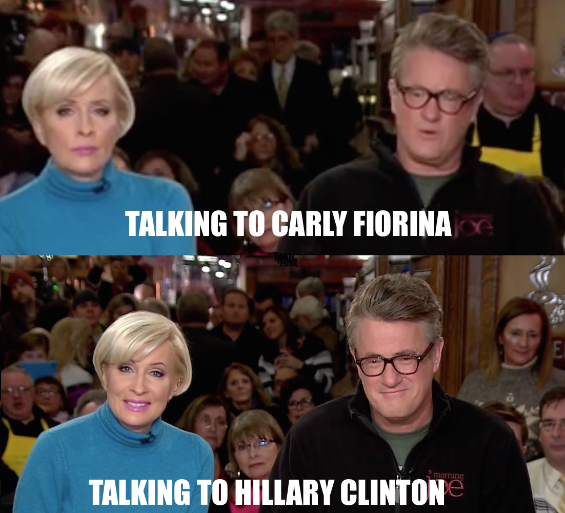 MORNING JOE mike hillary carly