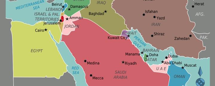 middle east iran saudi arabia